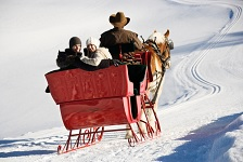 Romantic NH Sleigh Rides, Valentine's Day Ideas